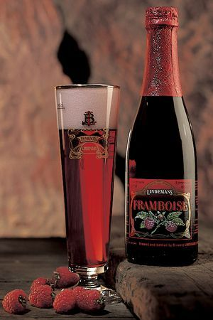 Lindemans Raspberry Framboise..My fav and so good with a chocolate ...