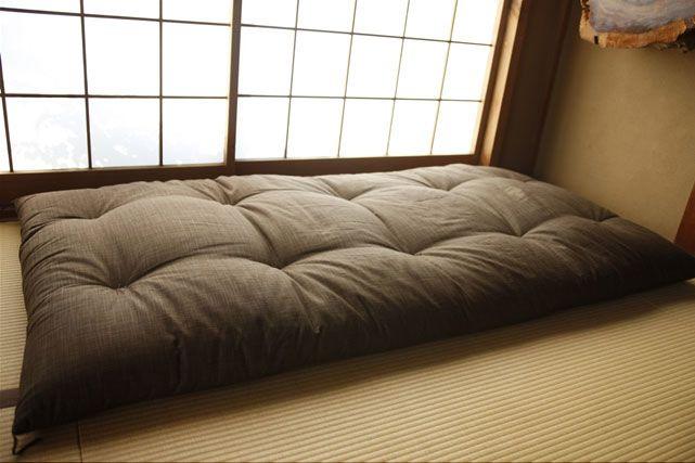 japanese futon japanese decor pinterest. Black Bedroom Furniture Sets. Home Design Ideas