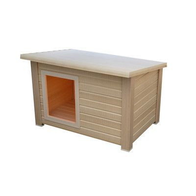 New age pet eco concepts rustic lodge dog house wayfair 145