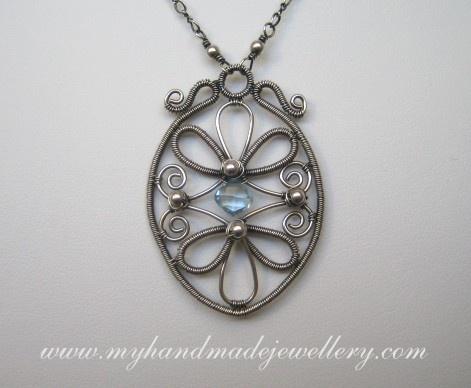 wire work | Wire Wrapped Jewelry | Pinterest