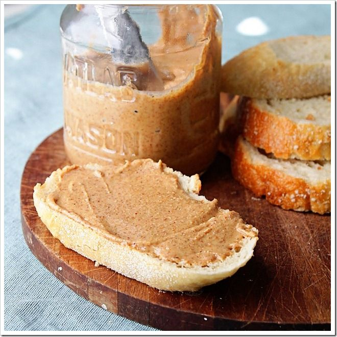 Homemade Almond Butter. So good. It will take about 10 minutes in food ...