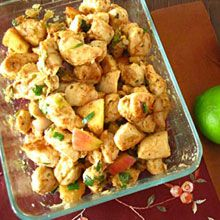 Apple lime chicken stir fry | recipes | Pinterest