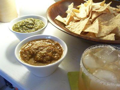 smoky chipotle salsa with pan roasted tomatillos salsa roasted smoky ...