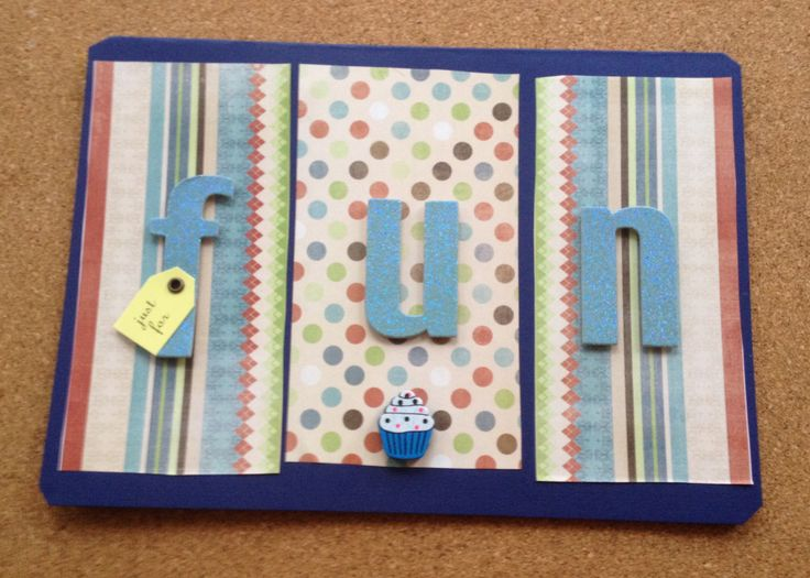 Handmade Masculine Birthday Cards