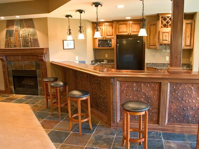 Kitchen with copper accent panels my decorating style - Kitchen with copper accents ...