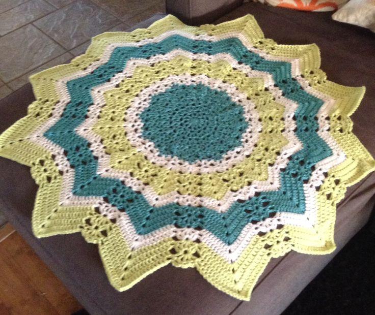 12 Point Star Crochet Baby Blanket Crochet Pinterest