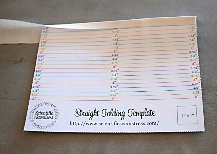 Straight Folding Template Sewing Pinterest