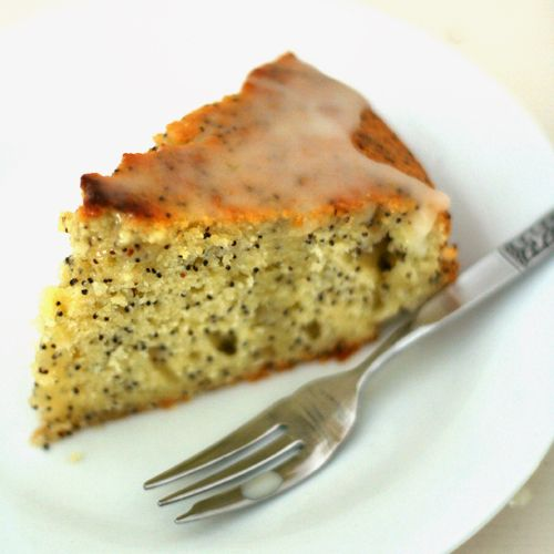 Lemon Poppy Seed Cake With Meyer Lemon Mousse Recipe — Dishmaps