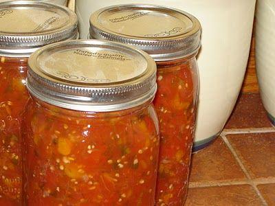 Canning Tomato Salsa | FOOD | Pinterest