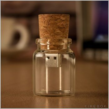 Message in a bottle, USB version