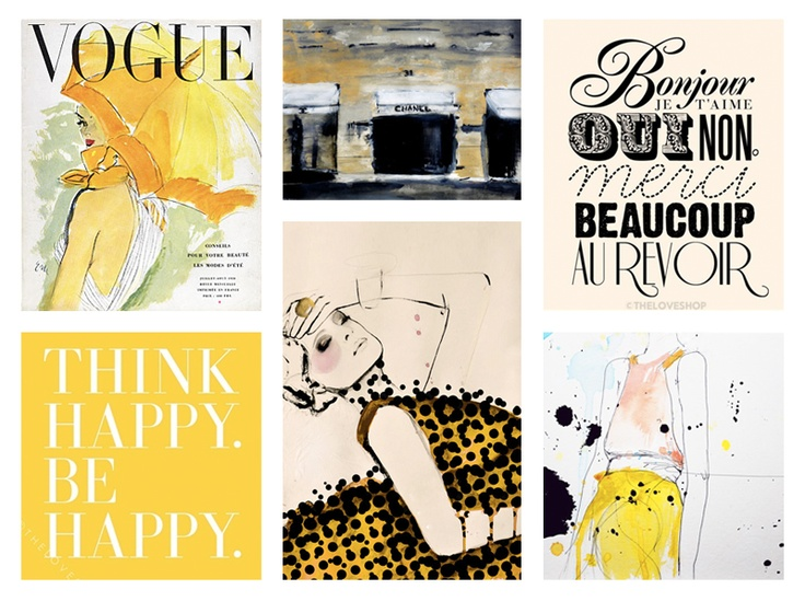 art vogue yellow inspirational quotes books pinterest