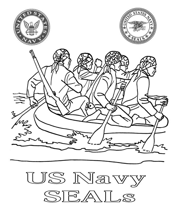 navy coloring pages free - photo#1