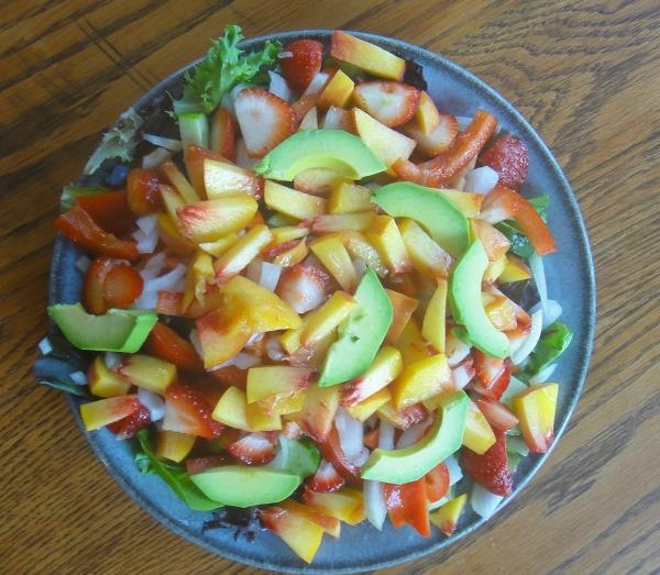Marinated Wild Alaskan Salmon And Avocado Salad With Watercress ...