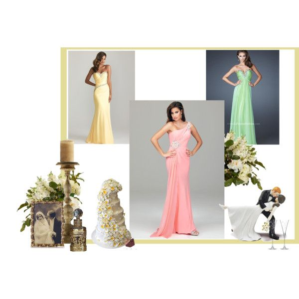 """""""What to Wear to a Black Tie Spring/Summer Wedding"""" by rissyroos on Polyvore"""