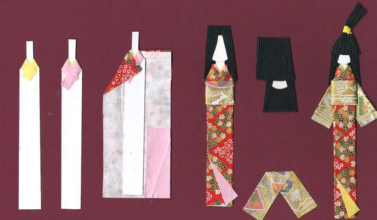 Поделки куклы с оригами 52
