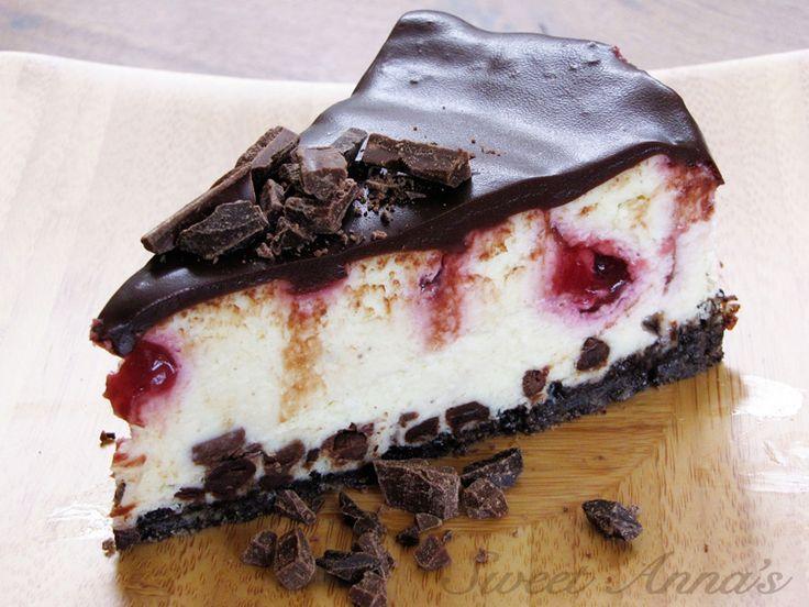 white chocolate raspberry truffle cheesecake - White chocolate ...