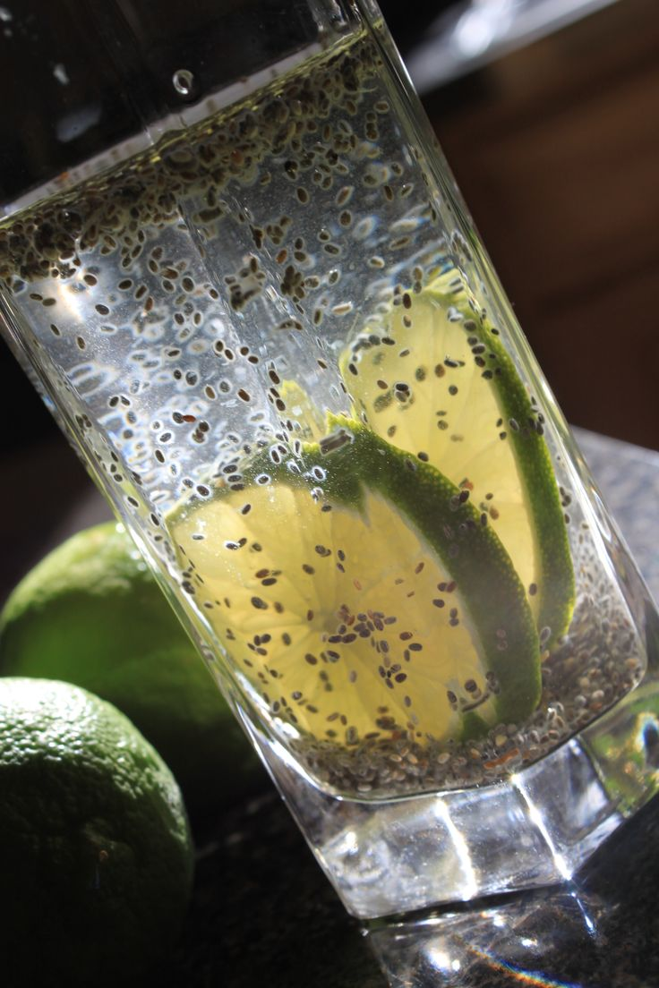 Lemon-Lime Chia Fresca | Yummy yummy for my tummy | Pinterest