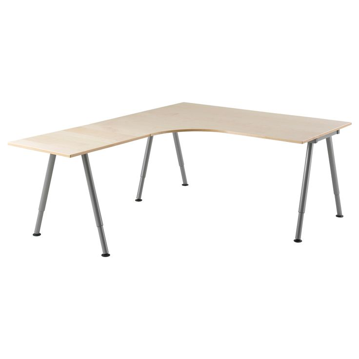 ikea galant birch veneer desk. Black Bedroom Furniture Sets. Home Design Ideas