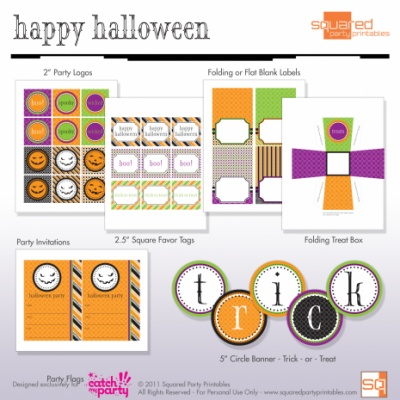 Free Halloween Party Printables {Halloween Party}