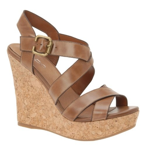 brown wedge sandals my style