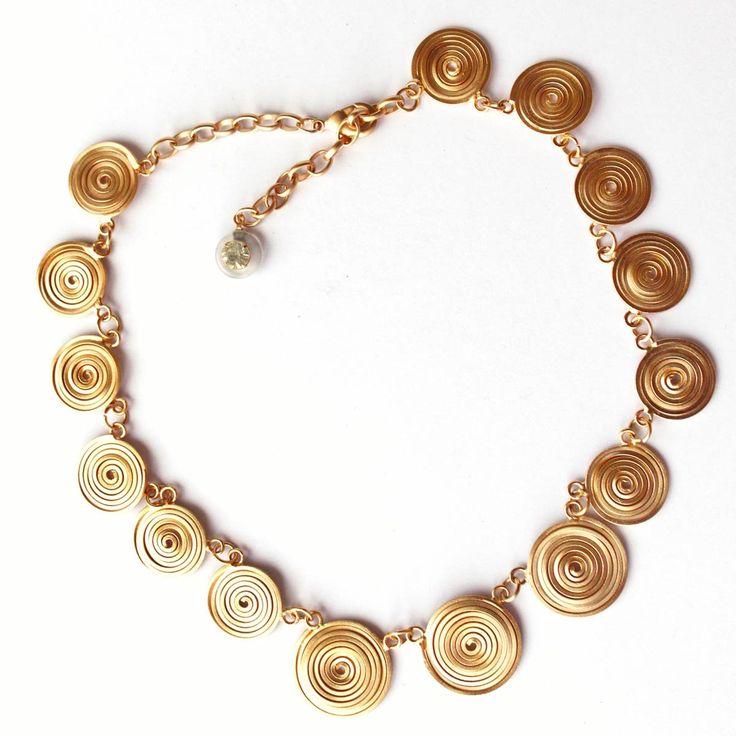 Oro Swaroski - Collares