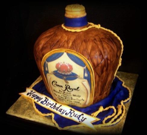 Crown Royal Cake Cakes Pinterest