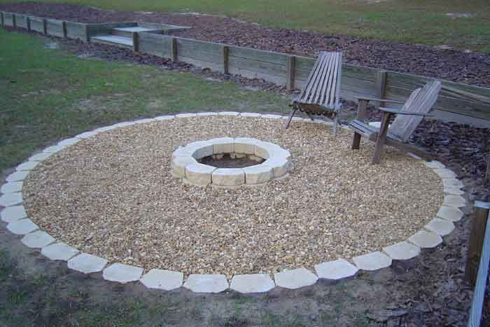 Outdoor Fire Pit Landscaping