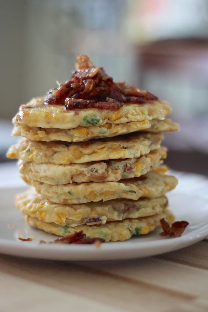 Bacon and corn griddle cakes | Food & Party | Pinterest