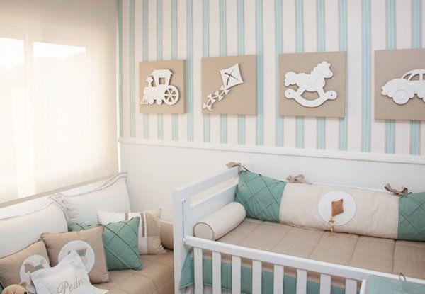 Ideias para quarto de bebê menino  Blog Como Le Gusta