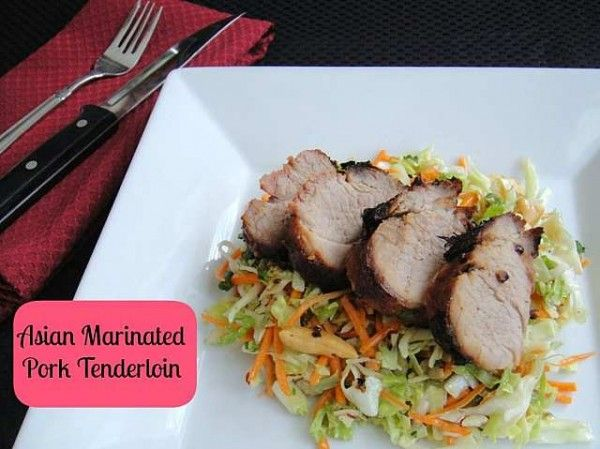 Pork Tenderloin with Asian Marinade Recipe