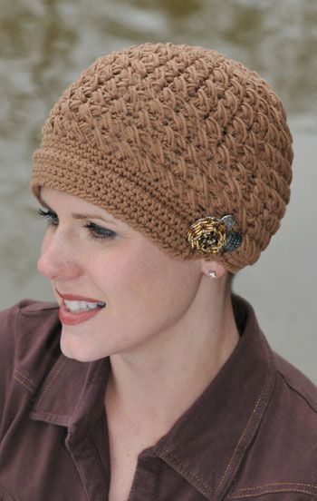 Crocheting Hats For Cancer Patients : chemo caps for cancer patients Crocheted Hats & Headbands Pintere ...