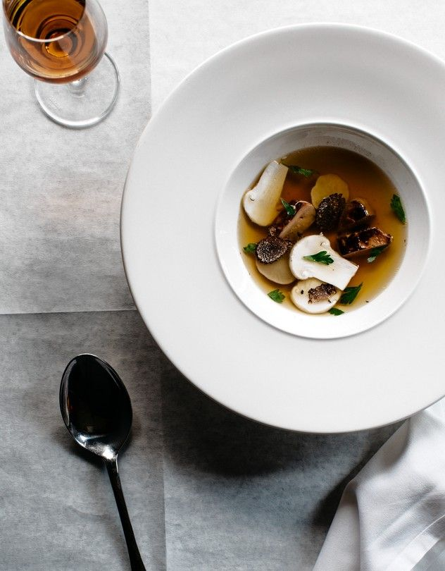 WHAT'S HOT | Chef Tony Maws's game bird consommé