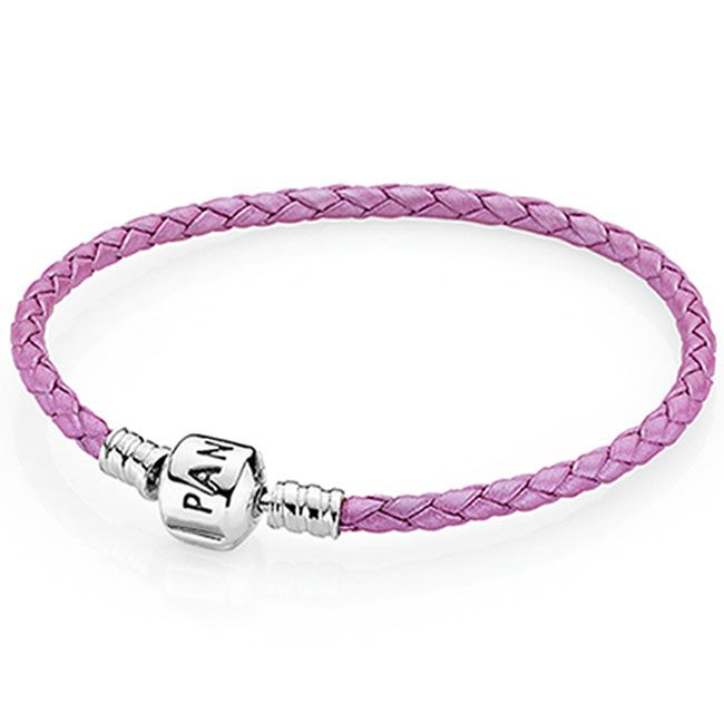 Pandora Single Pink Leather