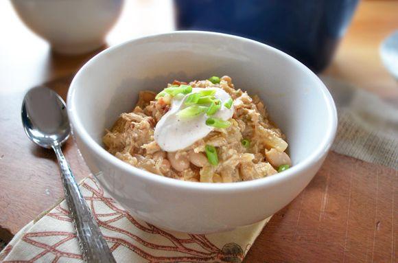 Shredded Chicken White Bean Chili | Marvelous Main Dishes | Pinterest