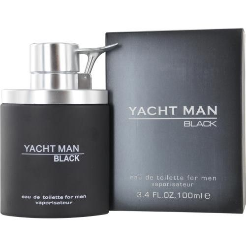Yacht Man Black By Myrurgia Edt Spray 3.4 Oz – uhsupply