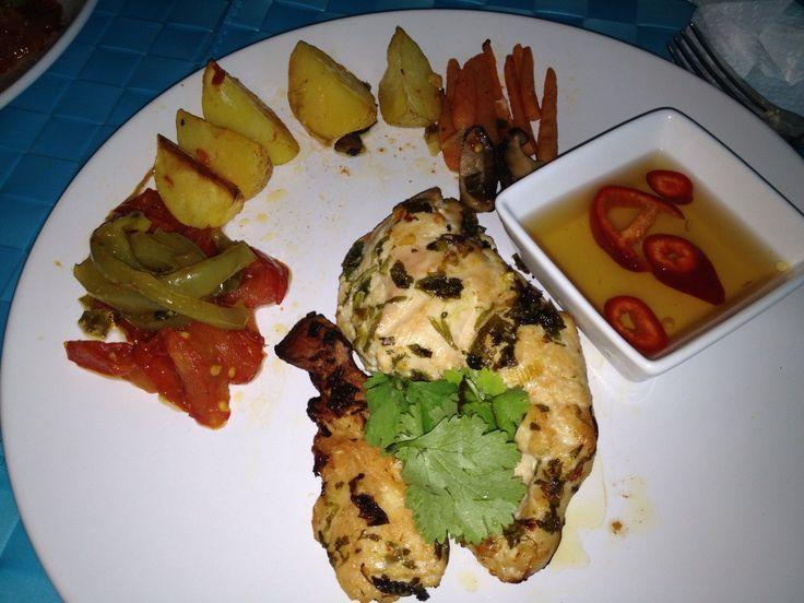 How to Cook Lemongrass Cilantro Chicken With Honey Dip   Recipe