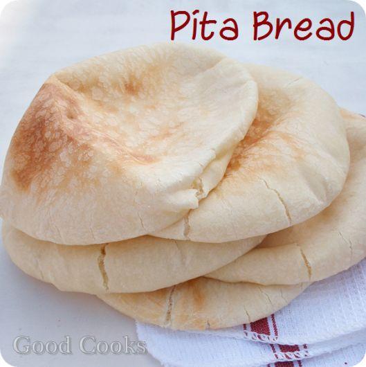 Pita bread recipe | Food | Pinterest