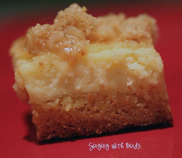 Creme Brulee Cheesecake Bars | Recipes | Pinterest