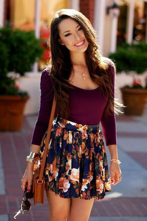 Super adorable outfit. I love, love, love the skirt!