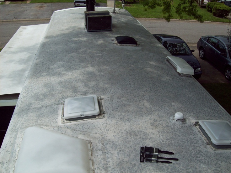 Simple Rubberroof EPDM Material Needs Special Care To Keep It Clean And In Good Condition A Side Benefit Of A Clean Rubber Roof Is The Prevention Of Unsightly Streaks That Can Run Down The RVs Sidewalls Rubber Roofs Are Glued To A Wood