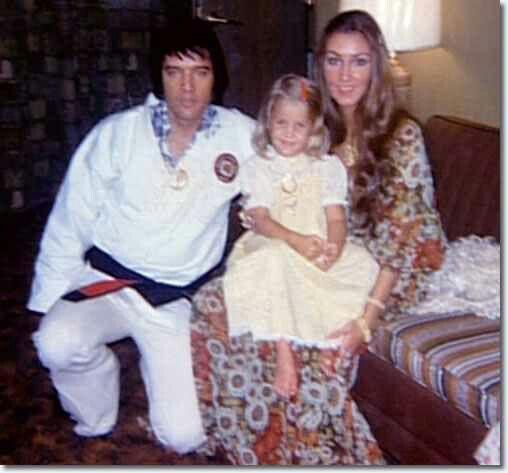 Elvis lisa and linda thompson