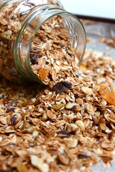 Coconut Granola | Recipes | Pinterest