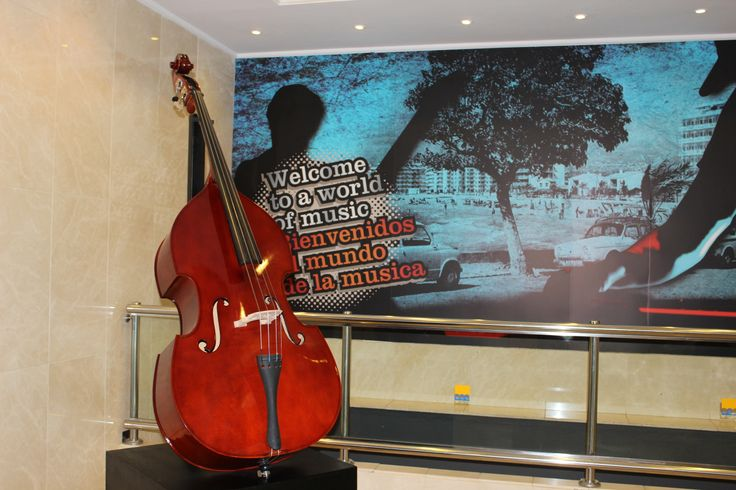 Welcome to a world of #music #benidorm music themed #hotel www.marconfort.com