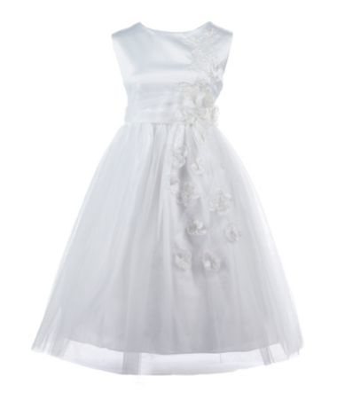 Jayne Copeland 2T-6X Satin/Tulle Dress | Dillards.com