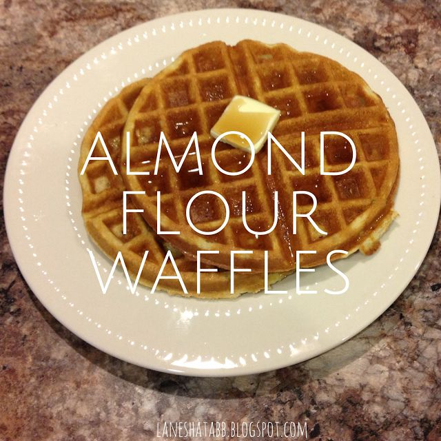 excited to try theses Cream cheesee & Almond Flour Waffles!