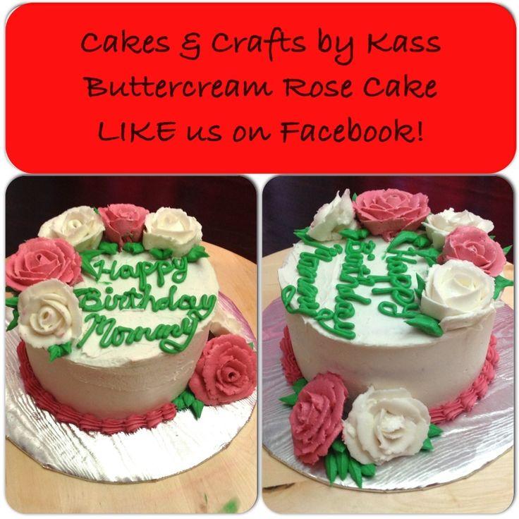 "... roses. She'll border in dusty rose. 6"" round vanilla cake. https..."