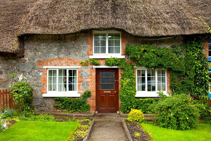Pin by alisha speakman on ireland and such alike pinterest - Traditional houses attic ...