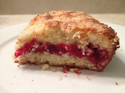 marvelous things: cranberry vanilla coffee cake. perfect for fall!