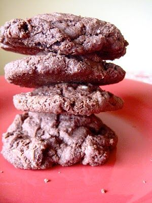 Kathleen King's double choc chip cookies, the best ever.