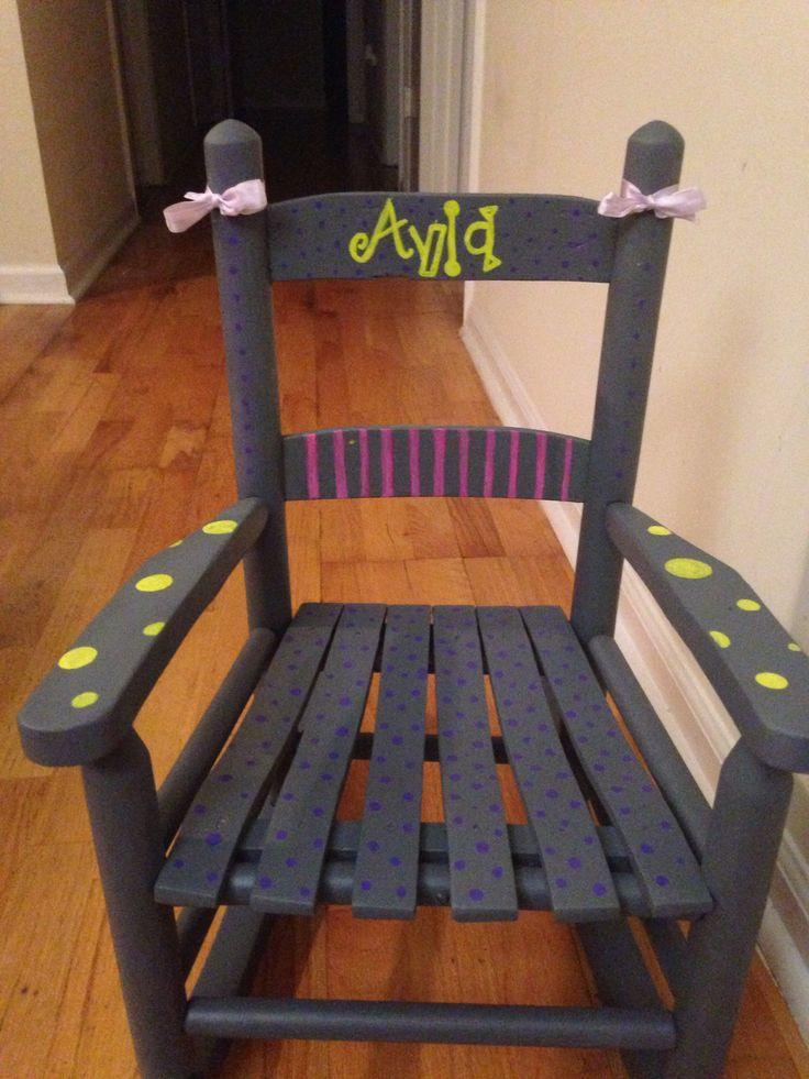 Painted rocking chair  Annie  Pinterest
